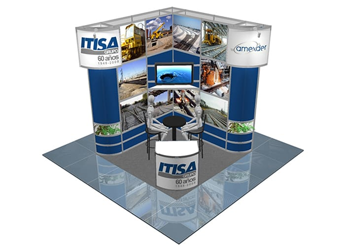 Stands Para Expo : Obtenga su stand octanorm one marketing stands y displays