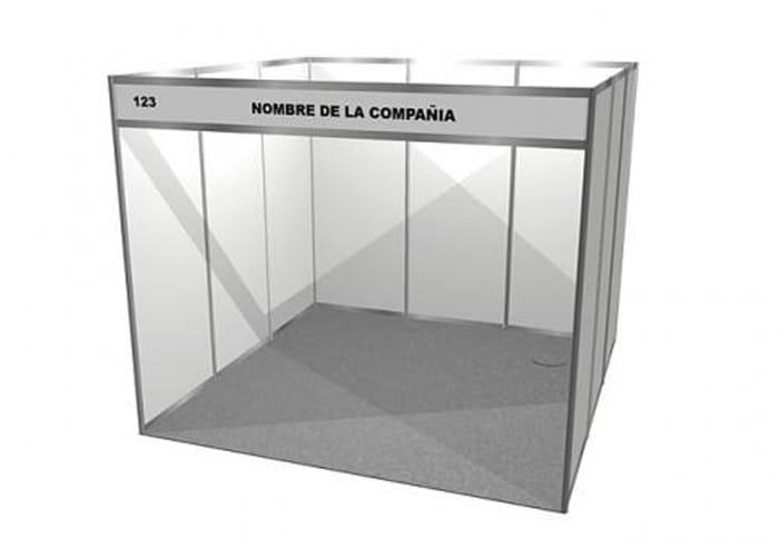 Obtenga su stand de l nea one marketing stands y displays for Alfombras 3x3 metros